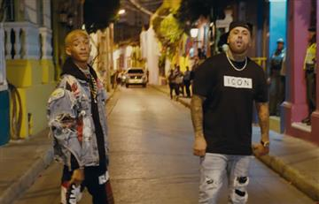 Jaden Smith y Nicky Jam estrenan el video que grabaron en Cartagena