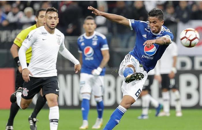 Millonarios venció 1-0 a Corinthians por Copa Libertadores