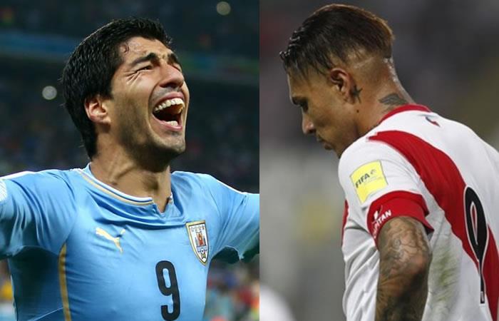 Uruguay muestra apoyo a Paolo Guerrero recordando lo mismo que le pasó a Luis Suárez