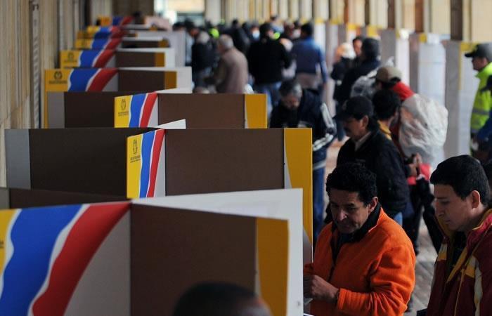 Colombia, lista para la primera vuelta de las elecciones presidenciales 2018
