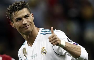 ¿Cristiano Ronaldo se despidió del Real Madrid?