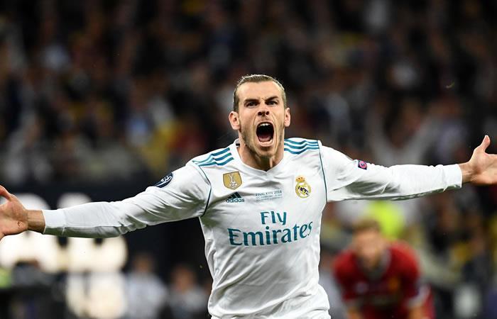 Gareth Bale. Foto: AFP