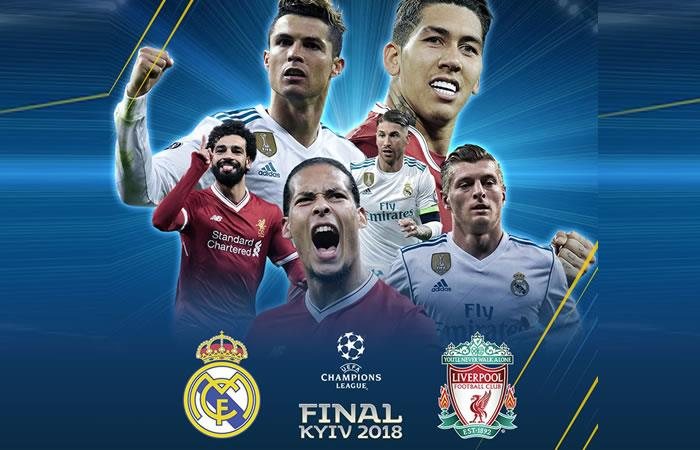 Real Madrid vs. Liverpool: Transmisión EN VIVO online