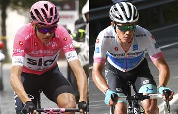 Chris Froome campeón del Giro de Italia y 'Supermán' López podio