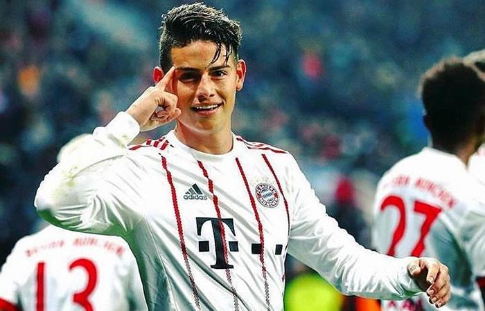 James Rodríguez culmina la temporada con otra distinción internacional
