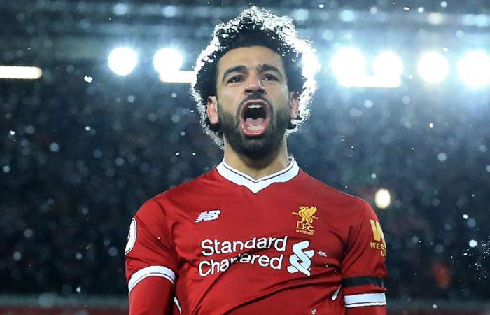 Mohamed Salah. Foto: AFP