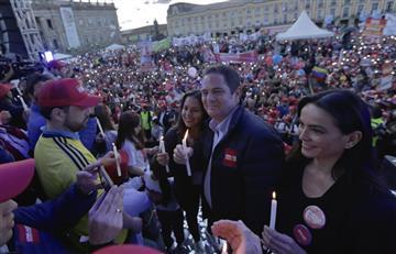 Vargas Lleras votó en el sur de Bogotá