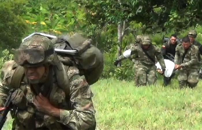 Caen once disidentes de las FARC durante operativo en Caquetá
