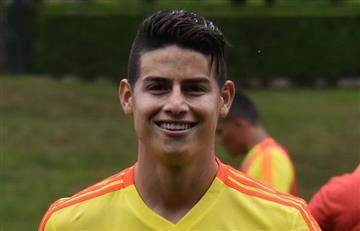 Javi Martínez trolea una foto de James Rodríguez con la selección Colombia