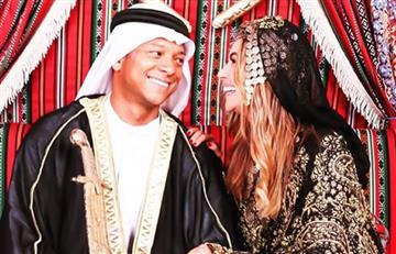 Las ostentosas vacaciones de Sara Uribe y Fredy Guarín en Dubái