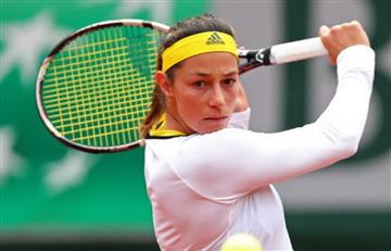 Mariana Duque empezó con pie derecho en el Roland Garros