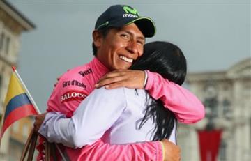 Nairo Quintana envió un mensaje de aliento a la selección Colombia