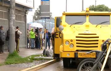 Bogotá: Impresionante asalto tuvo un pobre botín de 600.000 pesos en monedas