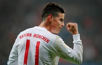 James Rodríguez: Su gol es nominado a la Bundesliga, VOTA AQUÍ por él