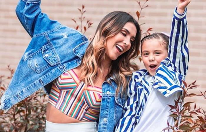Así celebró Salomé, hija de James Rodríguez y Daniela Ospina su cumpleaños