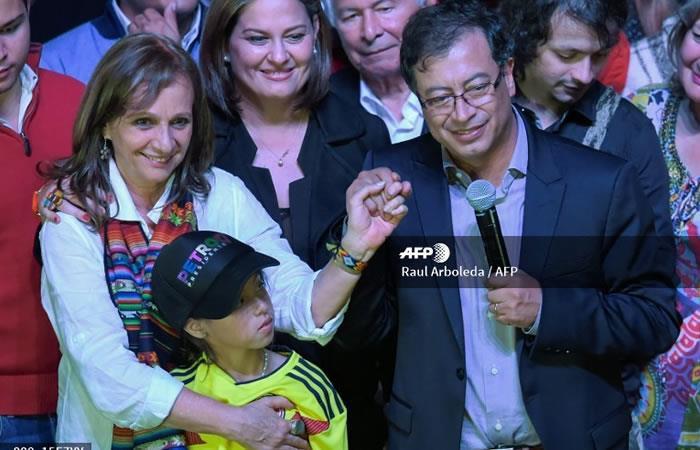 Gustavo Petro,. Foto: AFP
