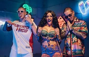 J Balvin, Cardi B y Bad Bunny estrenan el video de 'I Like It'