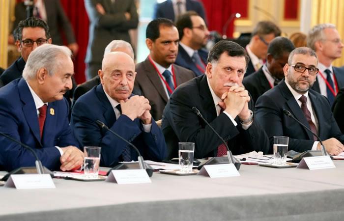 Libia: Los líderes aseguran que apoyaran elecciones para el 10 de diciembre