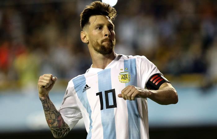 Messi con un hat-trick lleva a la selección Argentina a la victoria ante Haití