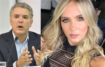 Elizabeth Loaiza apoya a Iván Duque y genera polémica por sus argumentos