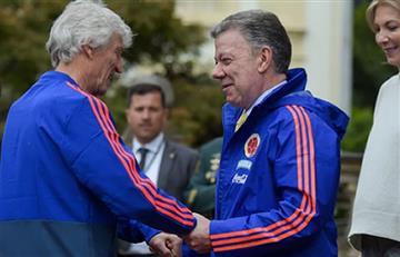 Santos relacionó la elección de Pékerman a la selección Colombia con la paz de las FARC