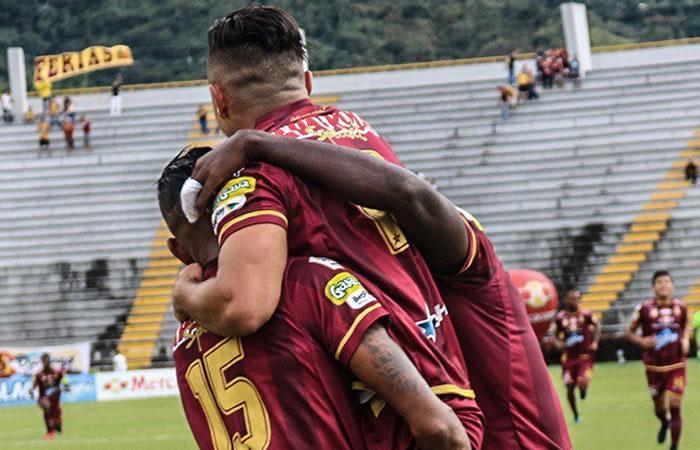 Tolima ganó en la ida de la semifinal al Independiente Medellín