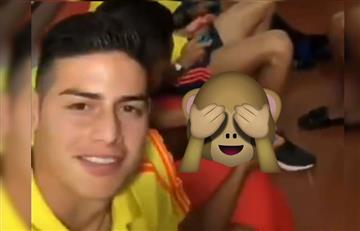 """Selección Colombia: James Rodríguez dejó en evidencia el """"vicio"""" de los jugadores"""