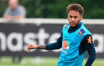 Neymar jugará con Brasil ante Croacia