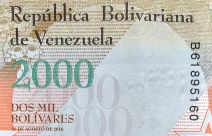 Venezuela: En agosto volverán a circular billetes con tres ceros menos