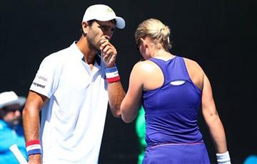 Robert Farah venció a Cabal en el duelo de dobles mixto en el Roland Garros