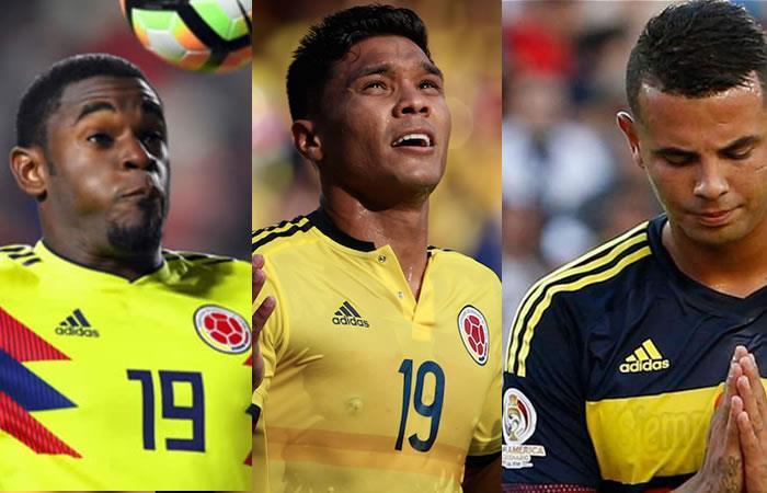 Mundial de Rusia: Los ausentes de la Selección Colombia