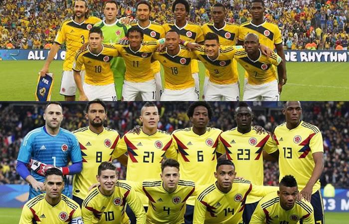 Selección Colombia: ¿En qué se diferencia la lista del 2014 con la del 2018?