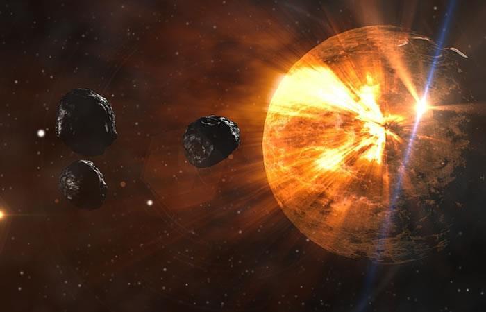 Video: Asteroide golpea la Tierra provocando una bola de fuego sobre Sudáfrica