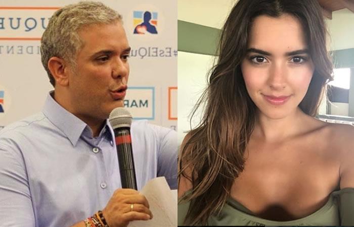 Iván Duque y la petición especial que le hace a Paulina Vega