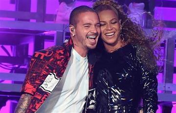 """J Balvinle acredita a la hija de Beyoncé el éxito de """"Mi Gente"""" Remix"""