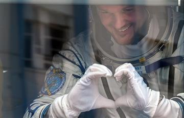 Tres astronautas despegaron hacia la ISS a bordo de un cohete Soyuz
