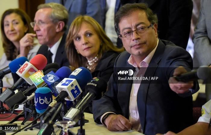 Gustavo Petro, candidato a la presidencia por Colombia Humana. Foto: AFP