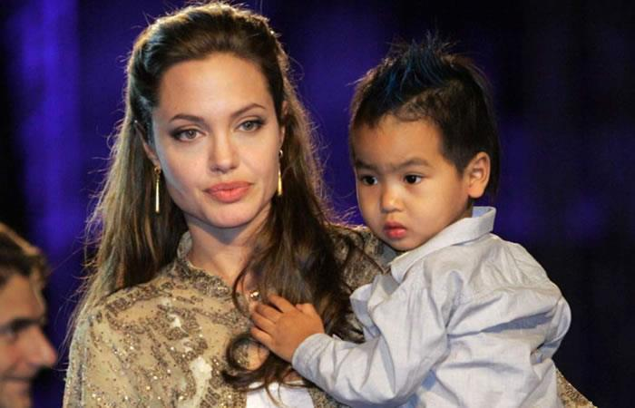 Angelina Jolie celebró su cumpleaños con sus hijos en un parque de diversiones