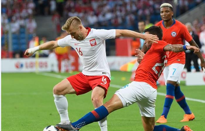 Chile sorprendió a Polonia y empató en el primer juego amistoso