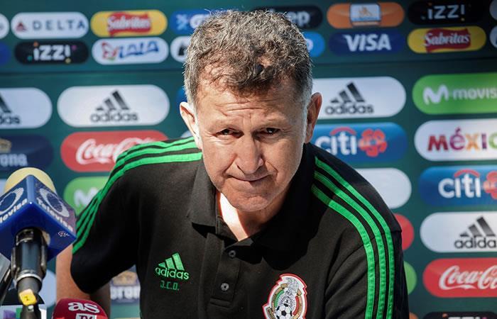 Juan Carlos Osorio respalda a los jugadores de México tras el polémico escándalo