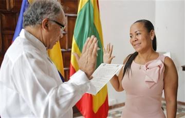 Cartagena: Yolanda Wong se posesionó como alcaldesa encargada