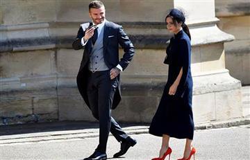 Los Beckham donan su ropa de la boda real por una buena causa