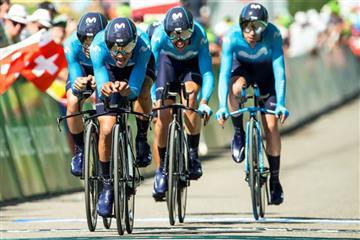 Nairo Quintana se lució en la Vuelta a Suiza