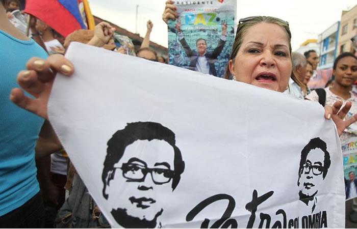 Las correrías de los candidatos presidenciales. Foto: EFE
