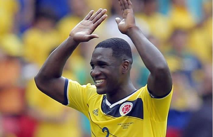 Cristian Zapata con altas posibilidades de ser titular ante Japón