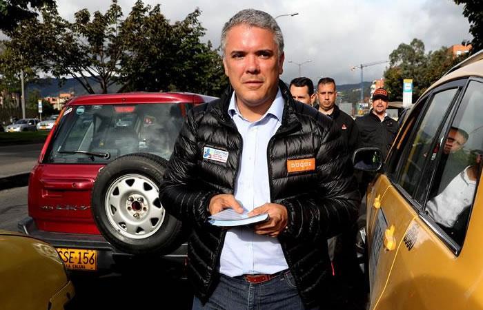 Entre Duque y Petro van a elegir los colombianos. Foto: EFE