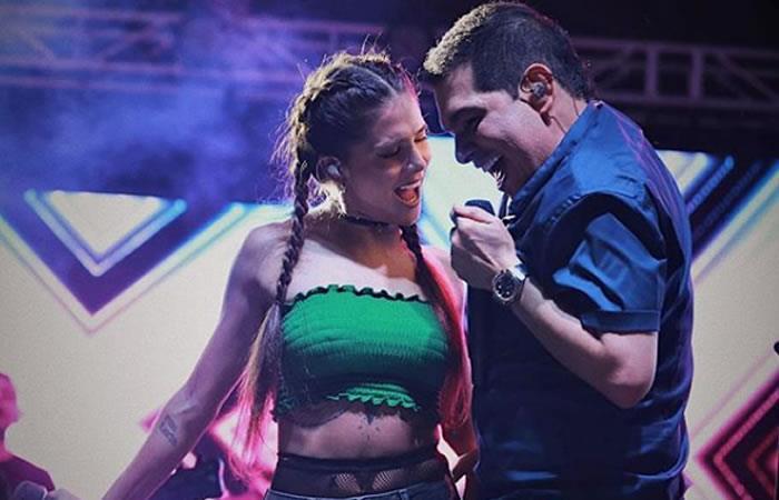 Foto:InstagramOficial/Greeicy Rendón canta 'Obsesión' junto a Peter Manjarrés