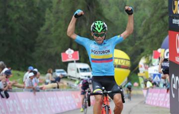 Giro de Italia sub-23: Einer Rubio el gran ganador de la quinta etapa
