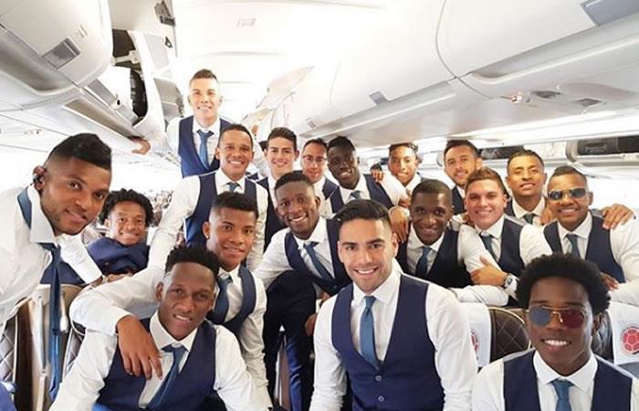 ¡Selección Colombia rumbo a Rusia!