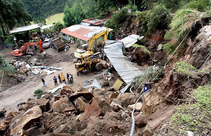 Dos sismos 4,5 y 4,3 grados dejan dos muertos en Pasto